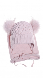 Alice powder beanie & scarf